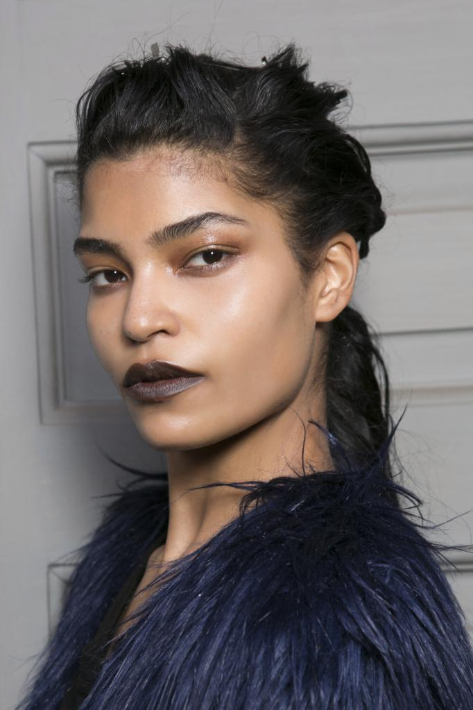 dark-brown-lipstick