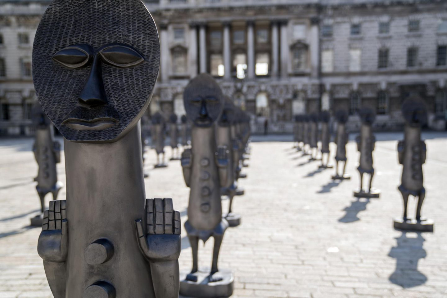 """Zak Ové's """"Black and Blue: The Invisible Man and the Masque of Blackness"""""""