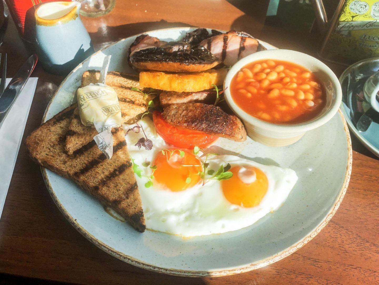 Milton Keynes's best value breakfast at The Greedy Italian