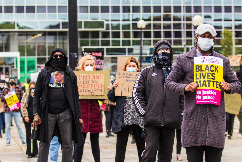 Black Lives Matter Protest in Milton Keynes